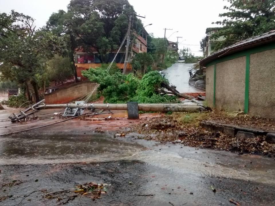 Cachoeiro amanhece com rastros de destruição após fortes chuvas ...