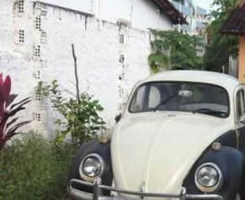 Fusca que servia como salão de beleza móvel é furtado na Praia da ...
