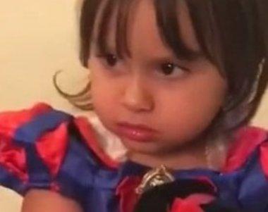 Kiara, filha de Natália Guimarães, dá bronca na avó em vídeo hilário ...