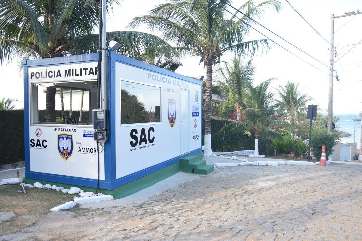 Morro do Moreno ganha módulo da Polícia Militar | Folha Vitória