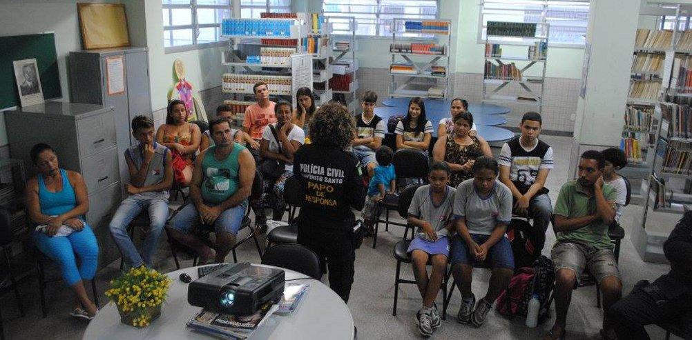 """Papo de Responsa"": projeto da Polícia Civil do Espírito Santo ..."