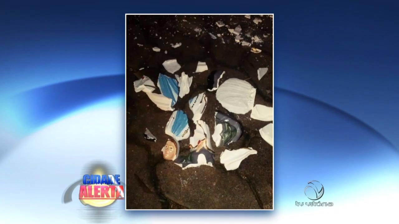 Capela é depredada e imagem é quebrada no Sul do Estado ...