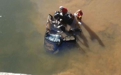 Jovem que sobreviveu a grave acidente no Rio Jucu recebe alta da ...