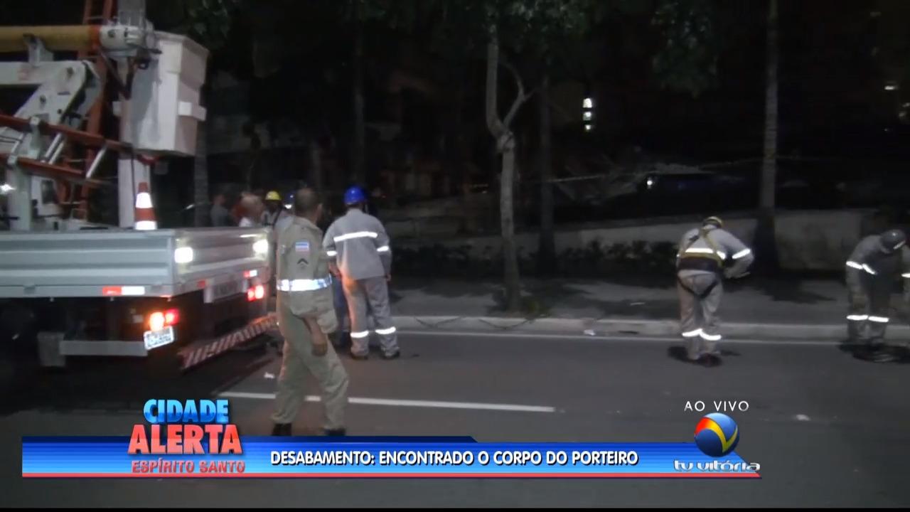 Área de Lazer de condomínio de luxo desaba em Vitória | Folha ...