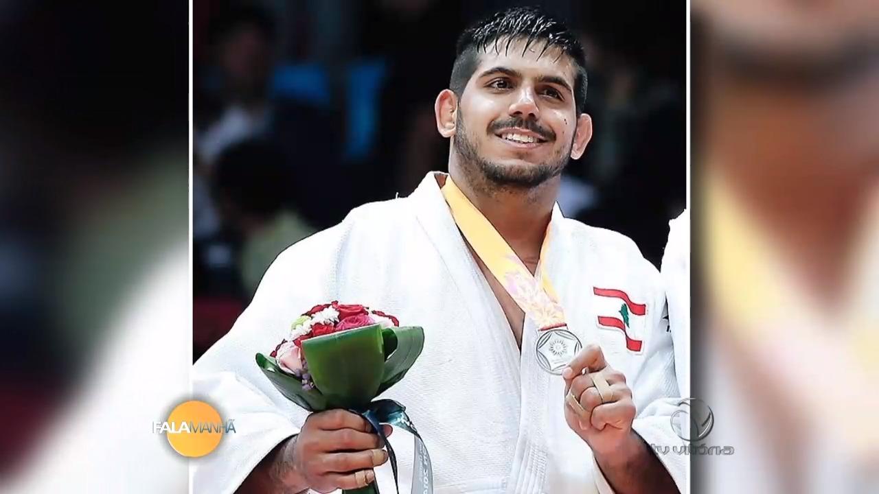 Judoca capixaba Nacif Elias será porta bandeira do Líbano | Folha ...