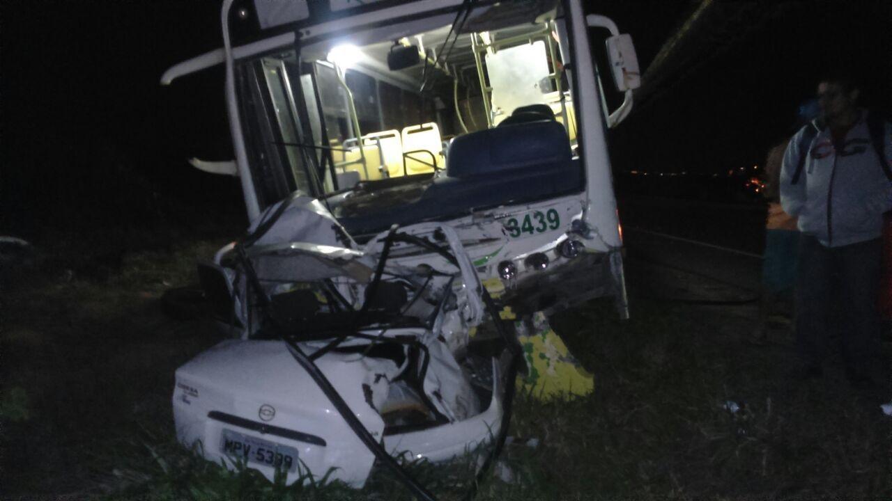 Uma pessoa morre em acidente com ônibus escolar na Rodovia do ...