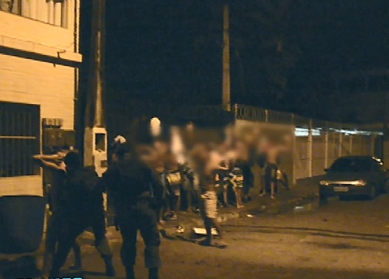 Megaoperação acaba com baile funk clandestino em Vila Velha ...
