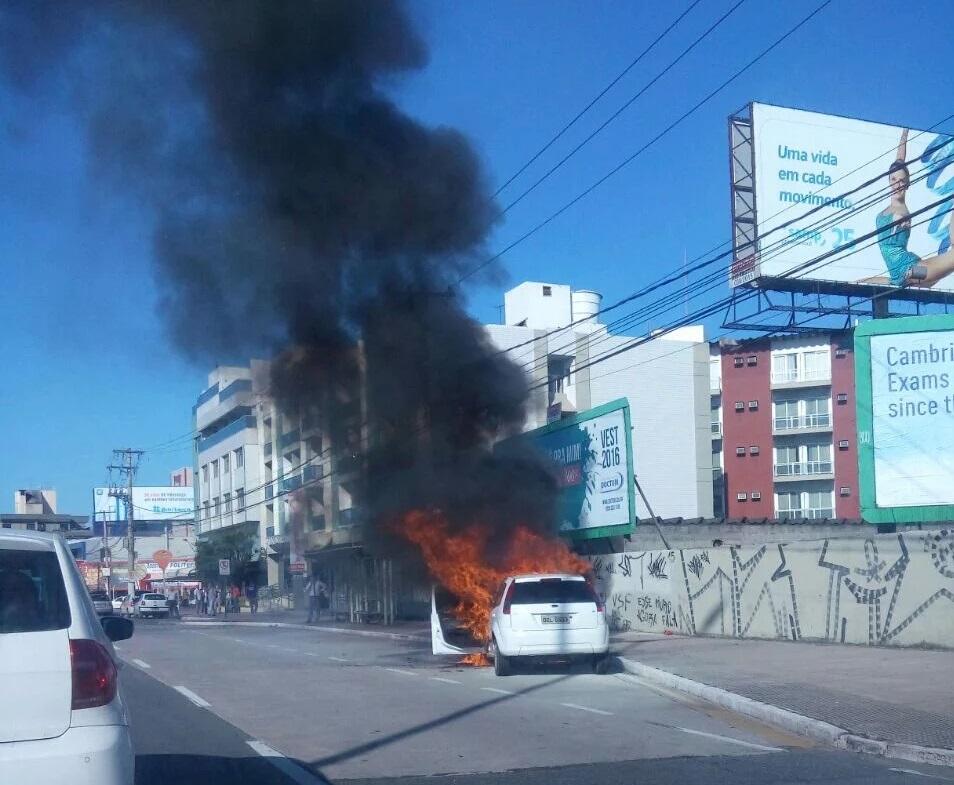 Dante Michelini é interditada após veículo pegar fogo. Veja como ...