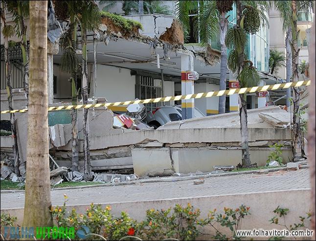 Corpo de funcionário é encontrado após desabamento de área de ...