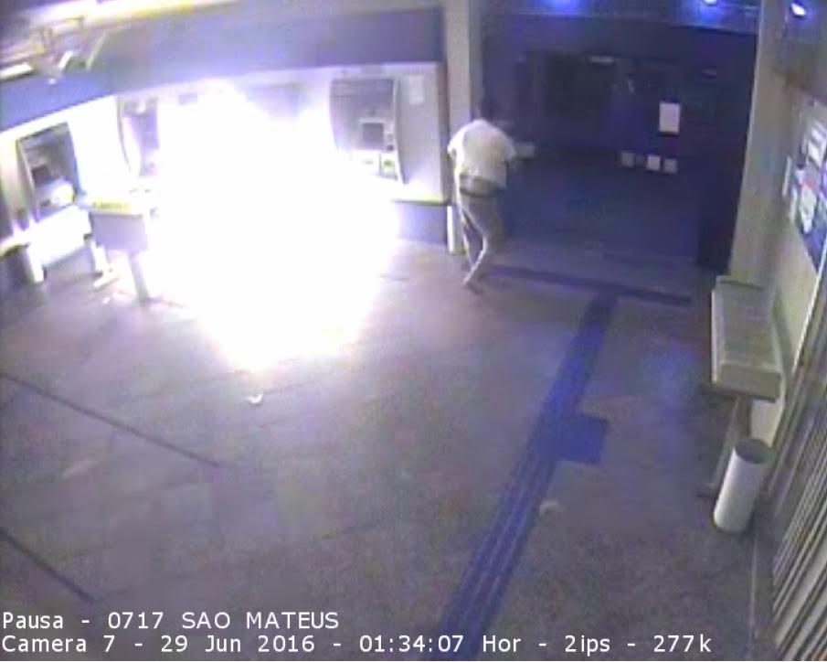 Paranaense é suspeito de colocar fogo em caixas eletrônicos em ...