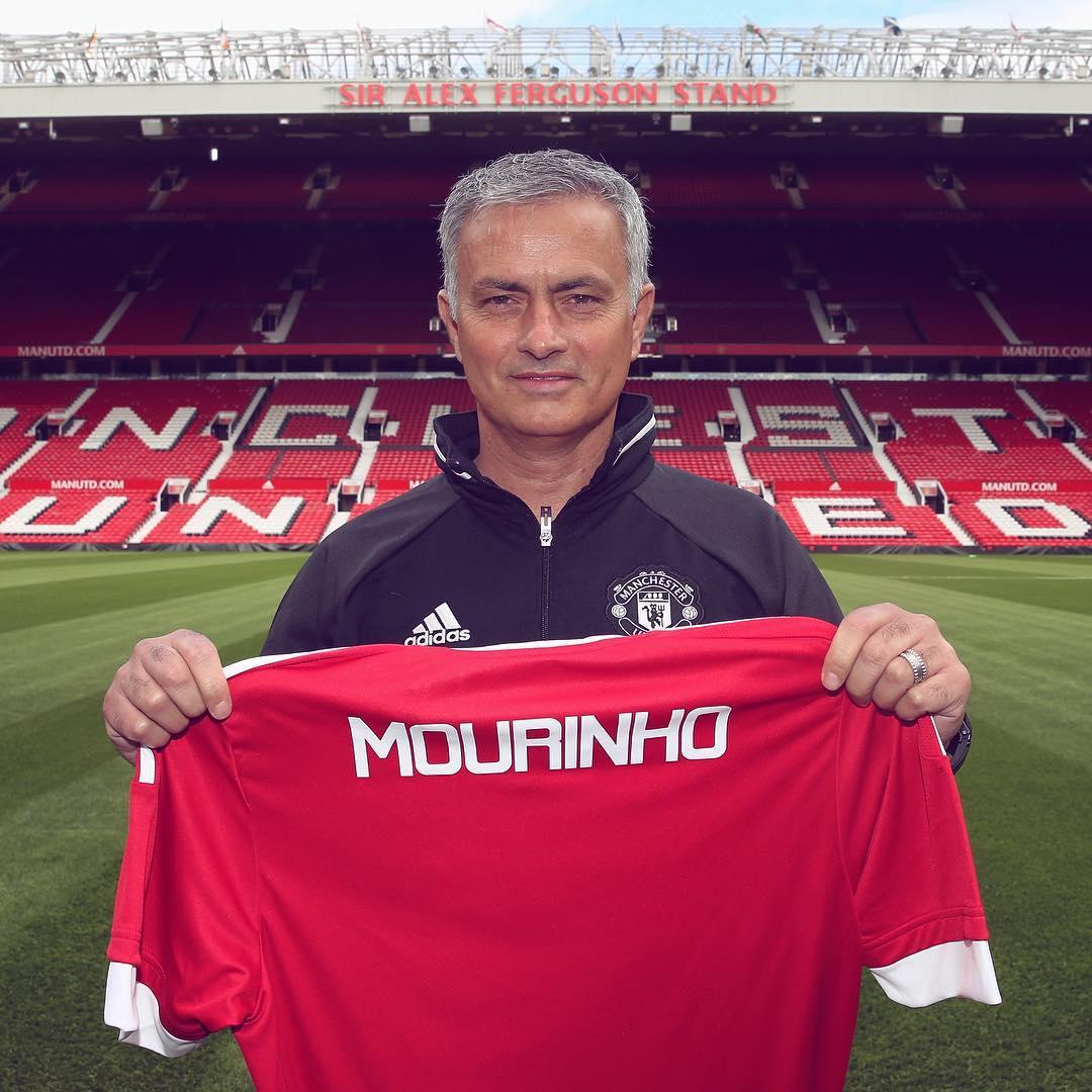 'Estou onde quero estar', diz Mourinho em apresentação no ...