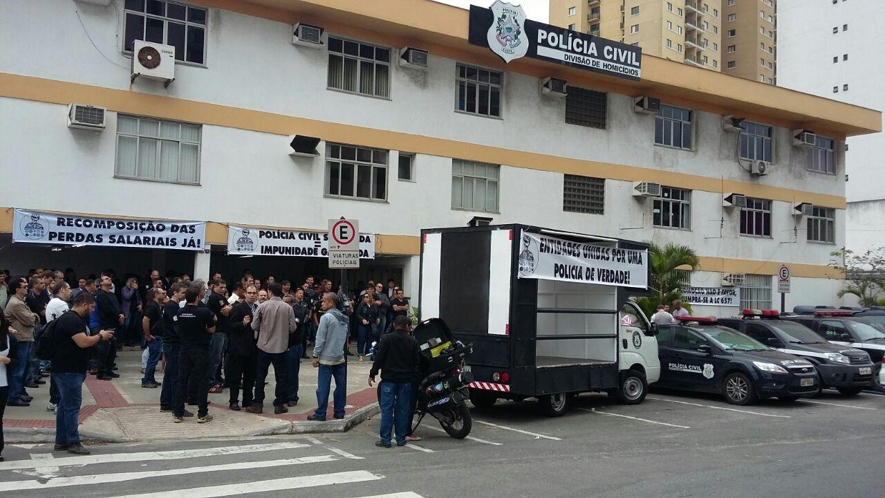 Policiais civis do sul do Estado participam de paralisação da ...