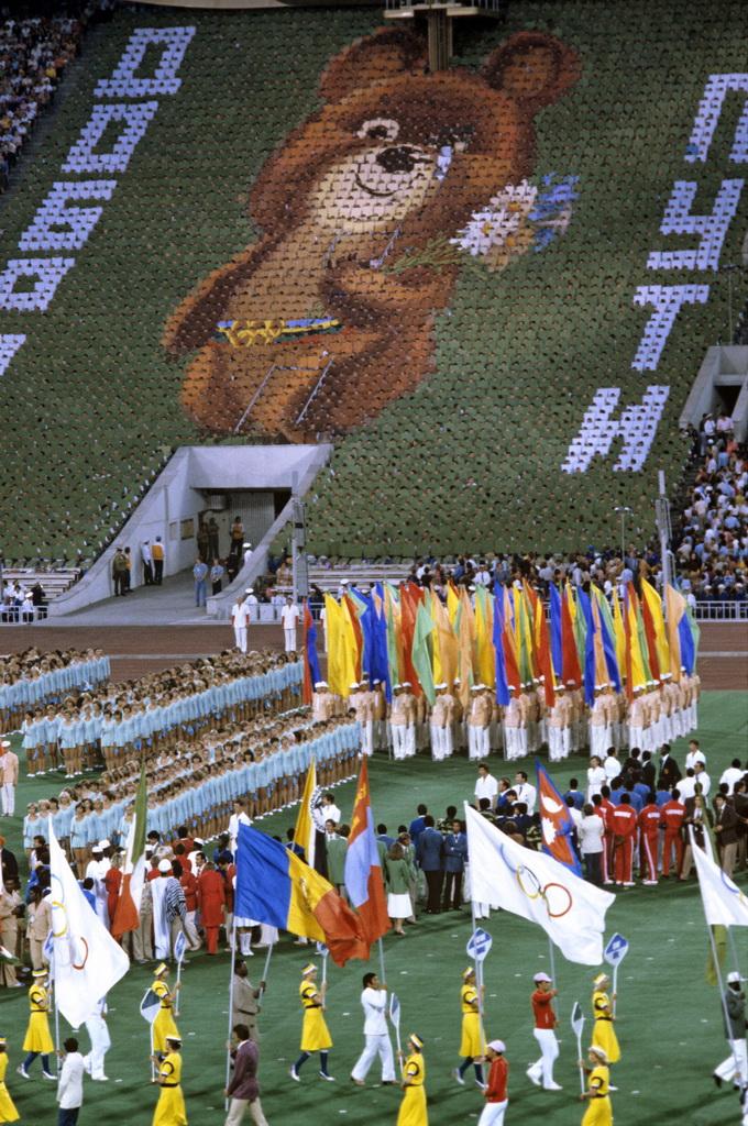 Momento Olímpico: relembre o choro do urso Misha nas Olimpíadas ...