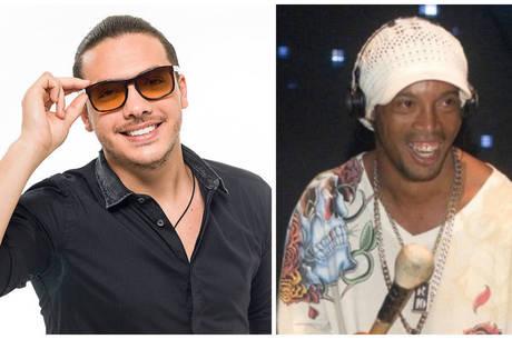 Wesley Safadão vai gravar DVD com Ronaldinho Gaúcho   Folha ...