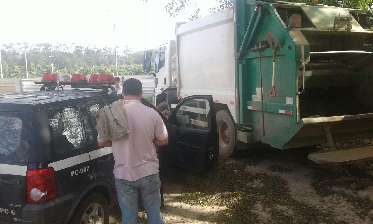Ex-secretário é preso retirando combustível de caminhão de lixo em ...