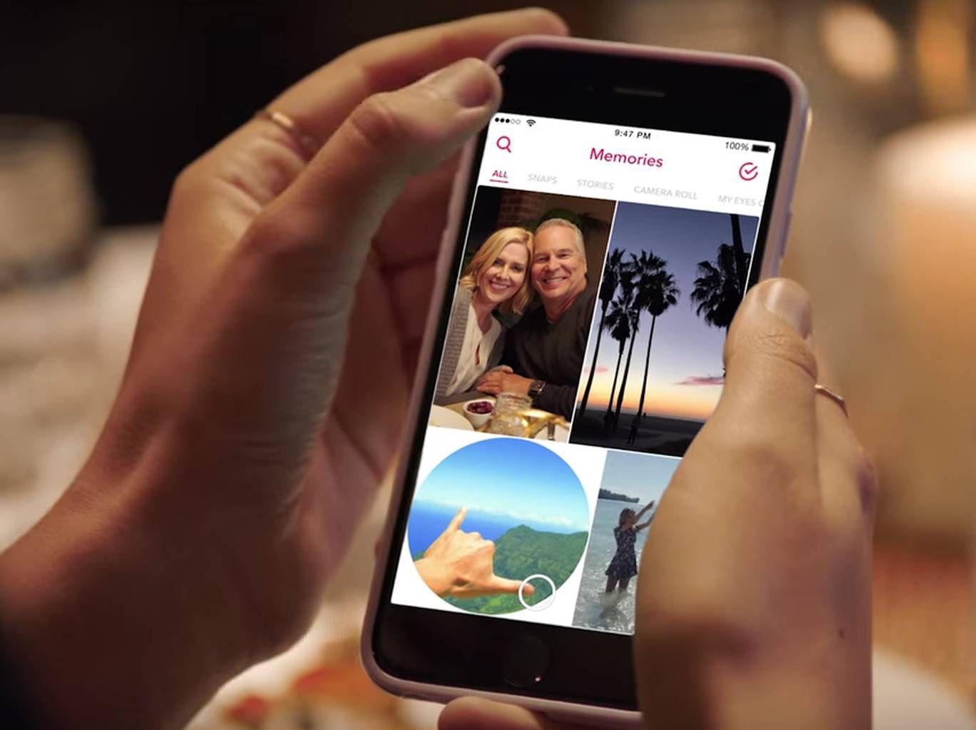 Snapchat lançará recurso para salvar snaps antigos para sempre ...