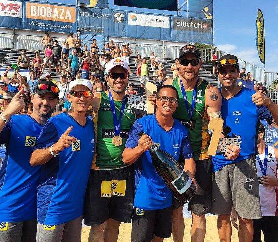 Dupla olímpica do Brasil fatura título em etapa de vôlei de praia ...