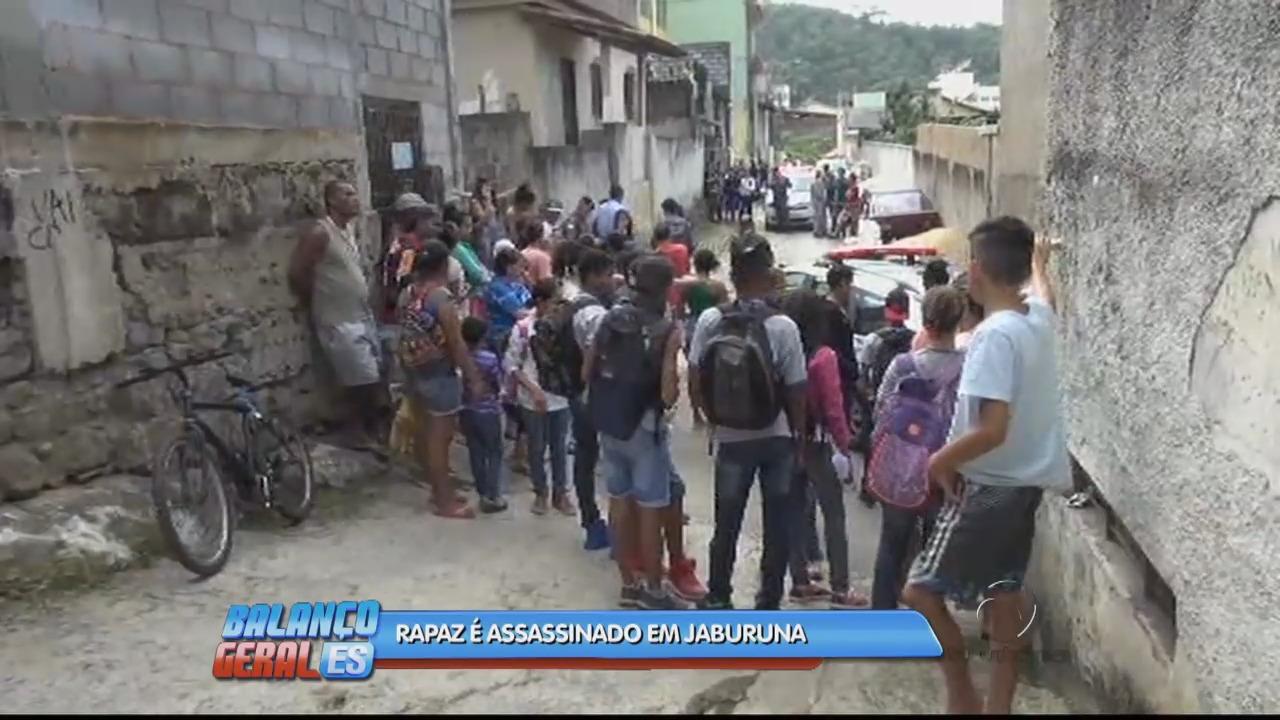 Rapaz é assassinado no bairro Jaburuna em Vila Velha | Folha Vitória