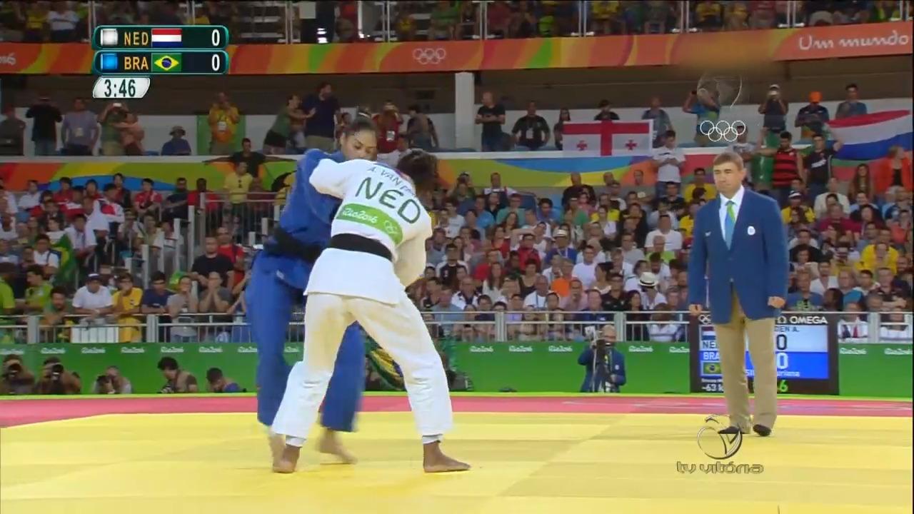 Brasil disputa medalha de bronze no Judô | Folha Vitória