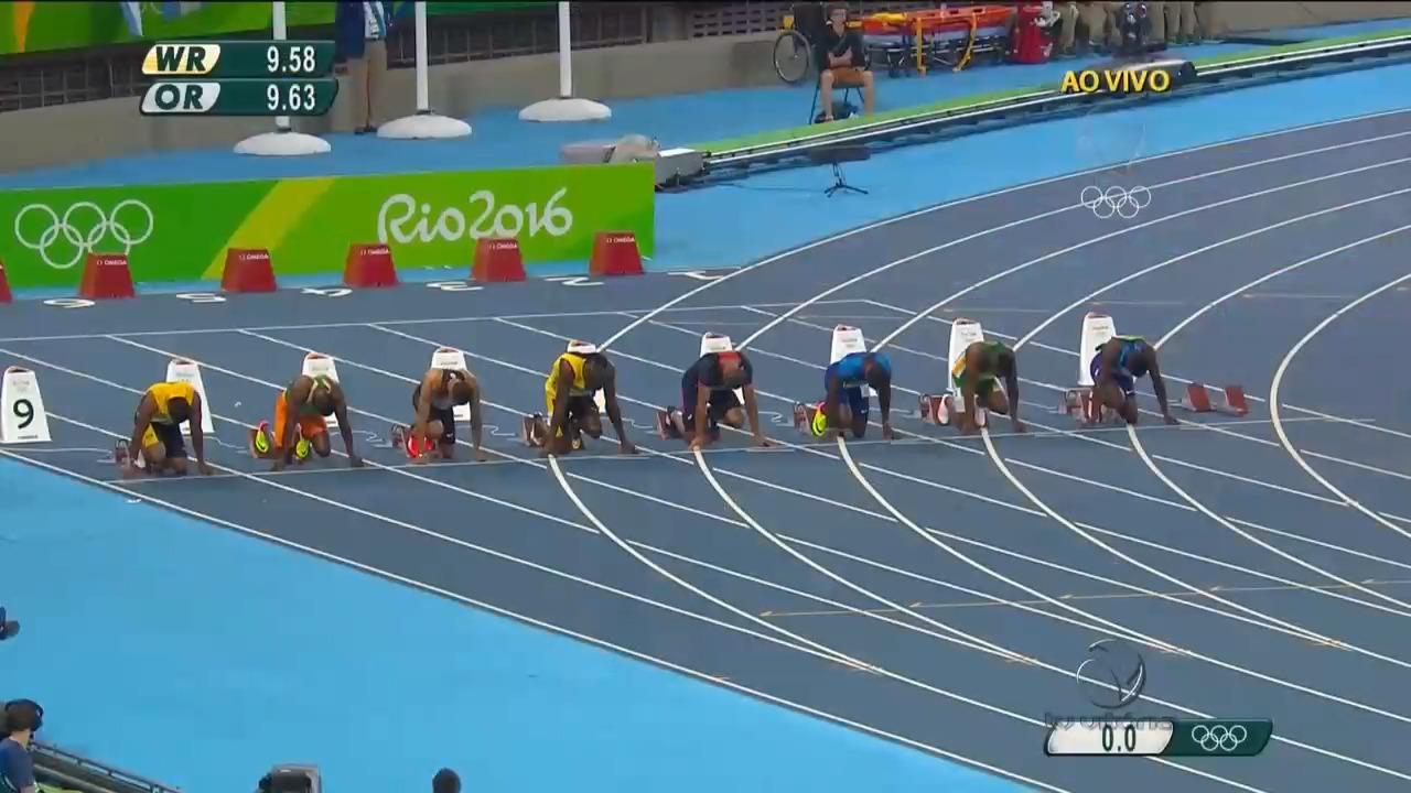 Usain Bolt ganha terceiro ouro nos 100 metros rasos   Folha Vitória