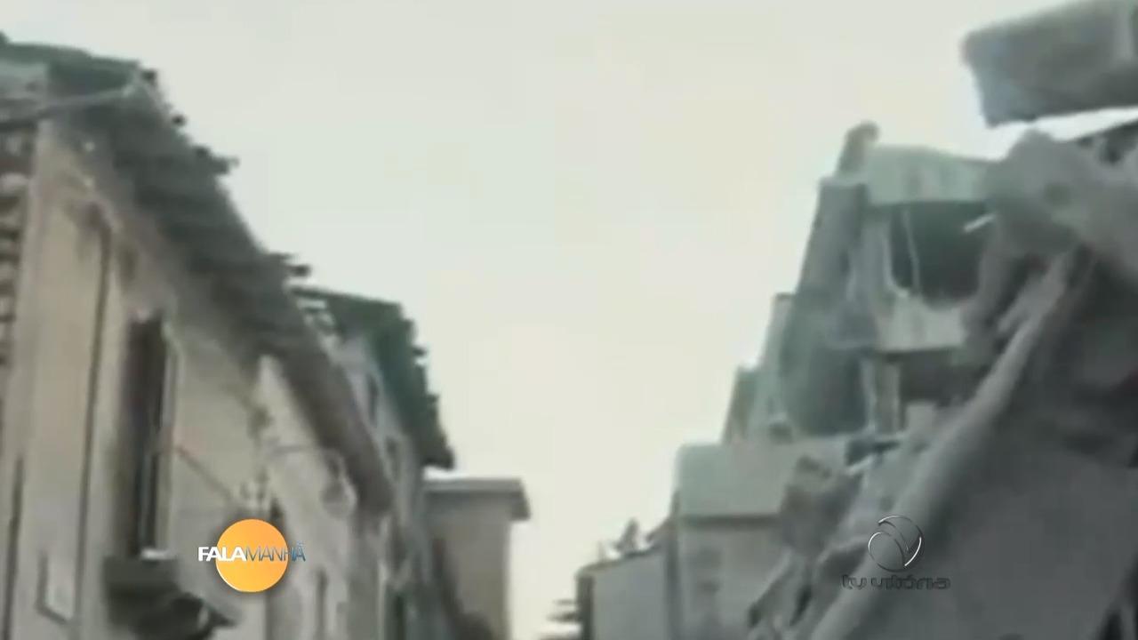 Forte terremoto atinge região central da Itália | Folha Vitória