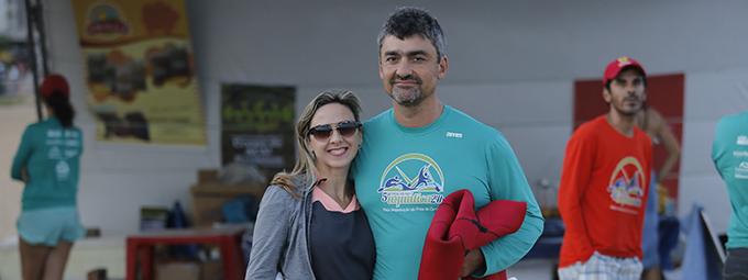 Nadadores e remadores fazem Maratona Aquática 24 horas