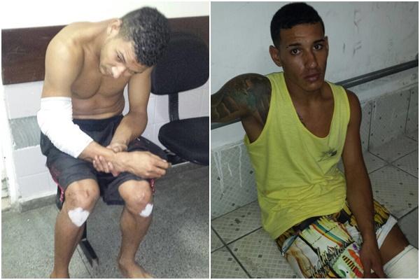Suspeitos tentam atirar contra policial em assalto, arma masca e ...