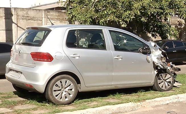 Carro de paróquia é roubado em frente ao Aeroporto de Vitória e ...