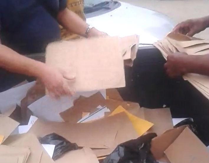 Vídeo mostra currículos jogados em lixeira próxima ao Aeroporto de ...