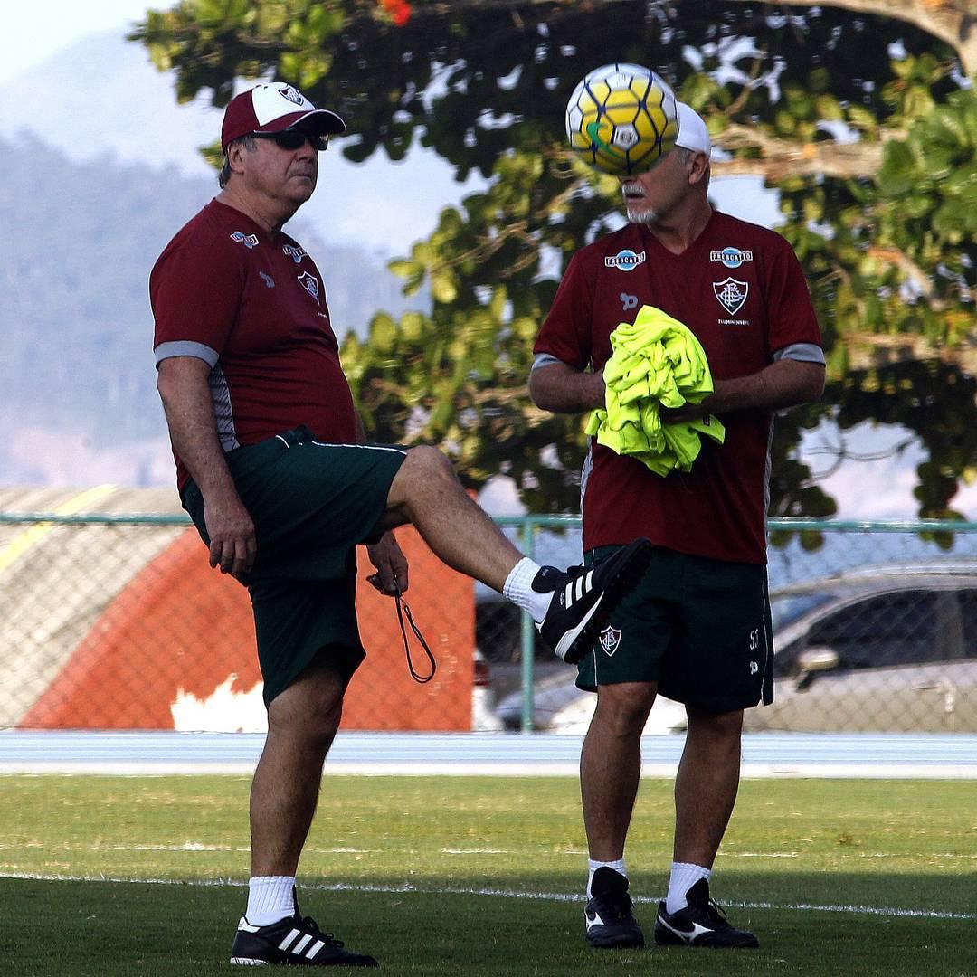 Wellington Silva treina e Levir escala Fluminense com Cícero e ...