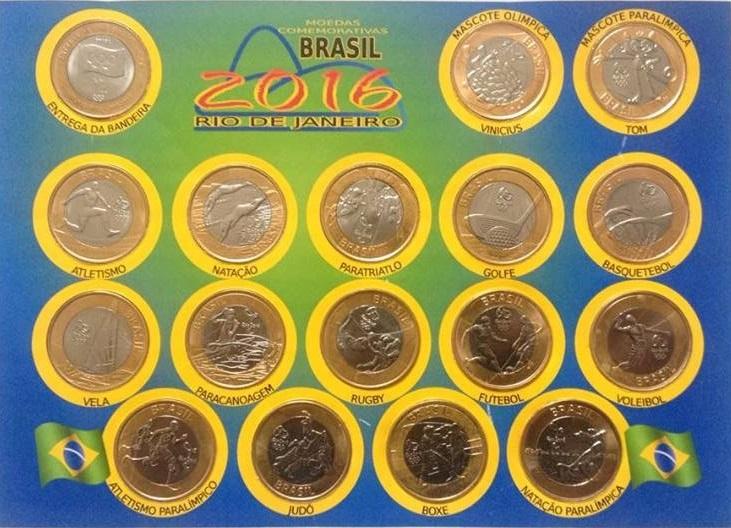 Capixabas colecionam moedas da Olimpíada que podem valer até ...