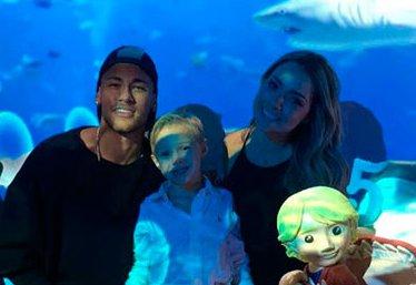 Neymar comemora 5 anos do filho ao lado de Carol Dantas | Folha ...