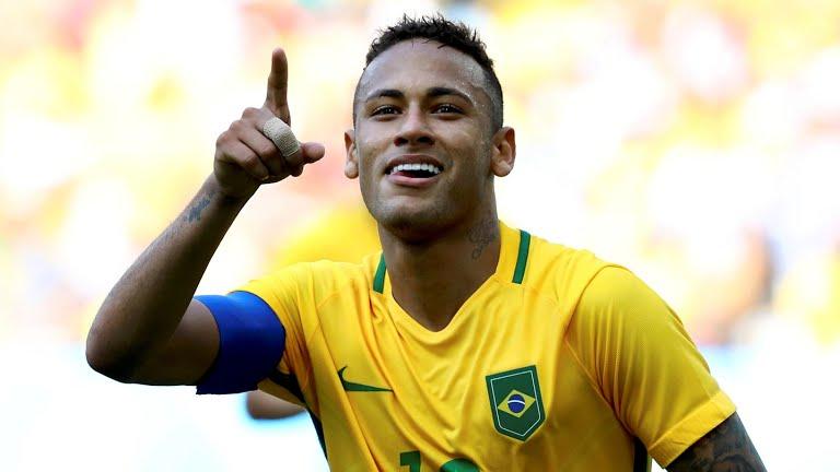 Neymar celebra segunda chance para ganhar o ouro olímpico após prata ... c510444fe63fe