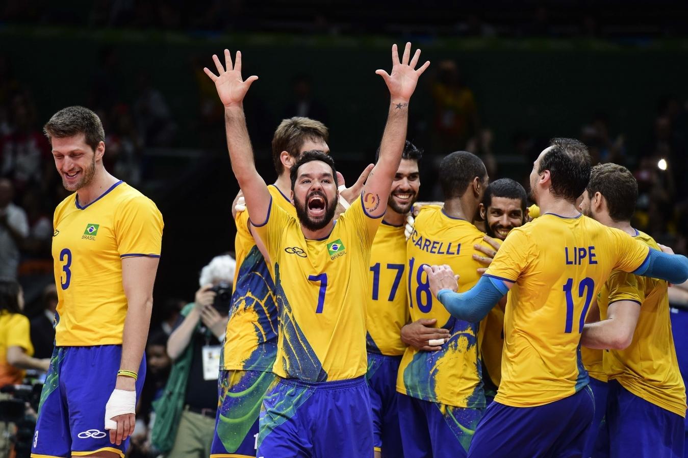 Seleção masculina de vôlei busca seu terceiro ouro olímpico   Folha ...