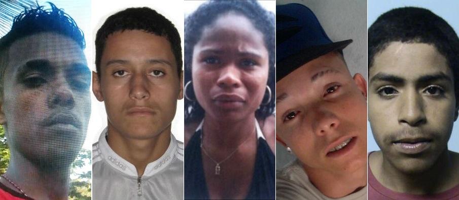 Polícia divulga imagens de suspeitos de assaltar ônibus na Grande ...