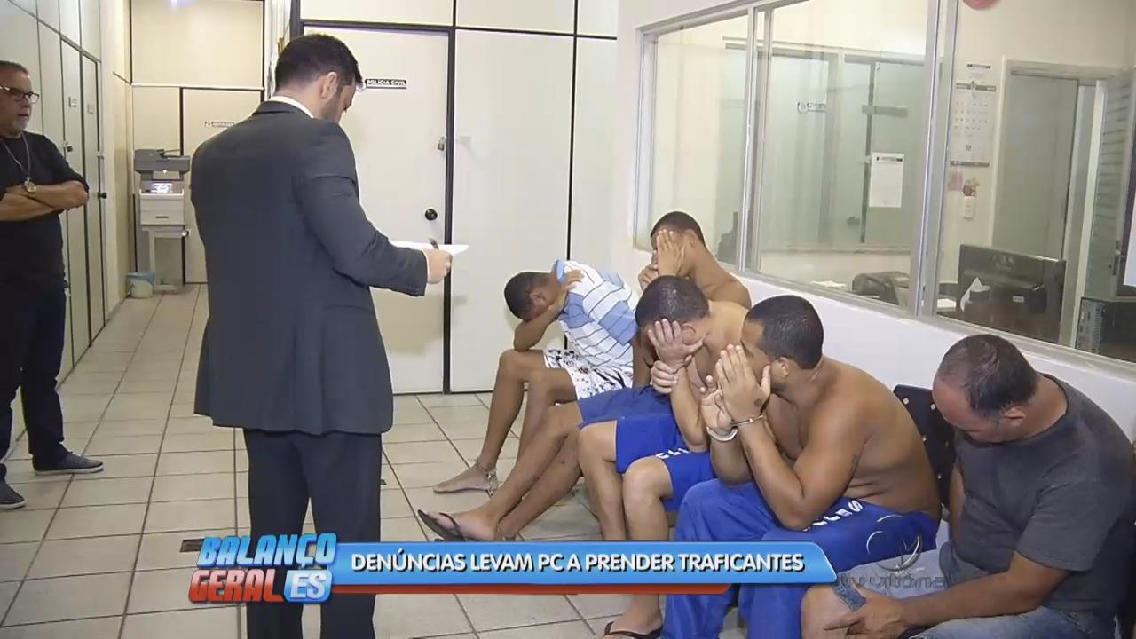 Operação policial prende traficantes em Cariacica   Folha Vitória
