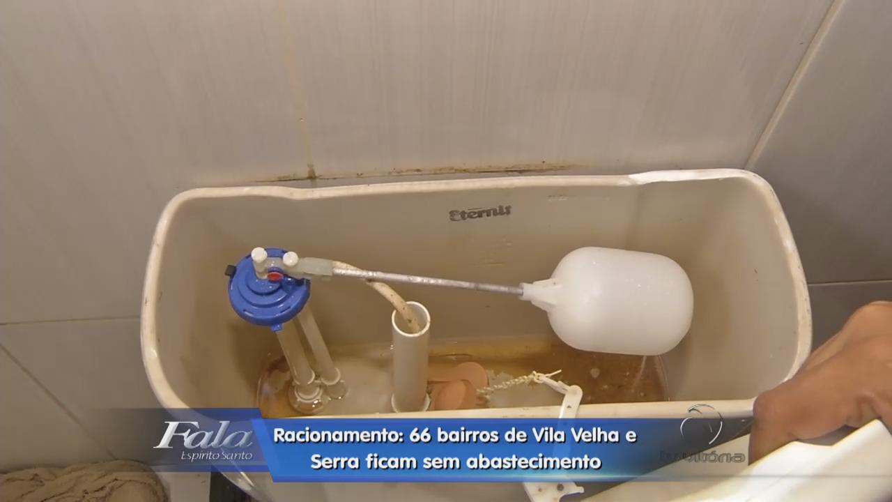 Grande Vitória passa por racionamento de água em razão da crise ...