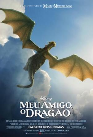Cartaz Meu Amigo, O Dragão