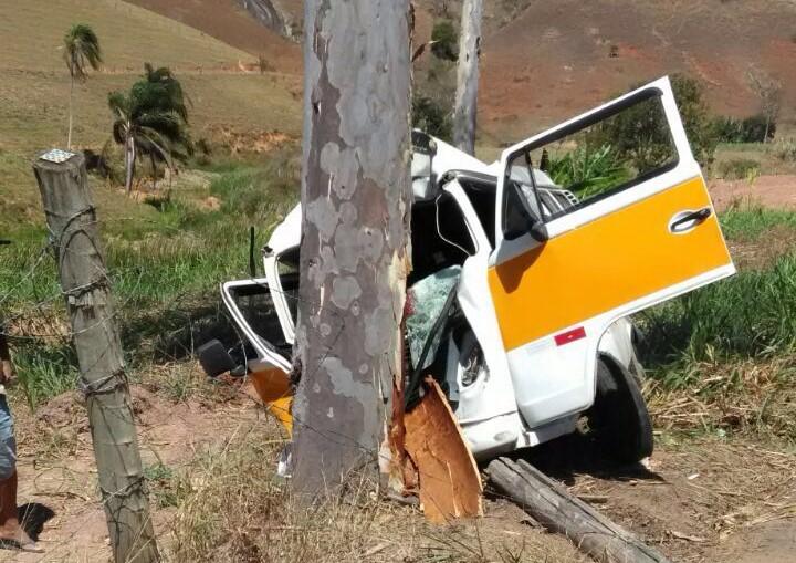 Motorista de transporte escolar morre em Muniz Freire após bater ...