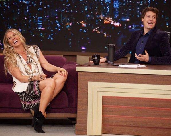"""Adriane Galisteu fala sobre polêmica com Boninho: """"Não fui pedir ..."""