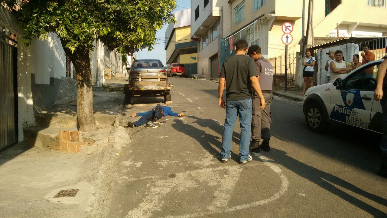Policial civil reage a assalto e atira em bandido em Cariacica | Folha ...