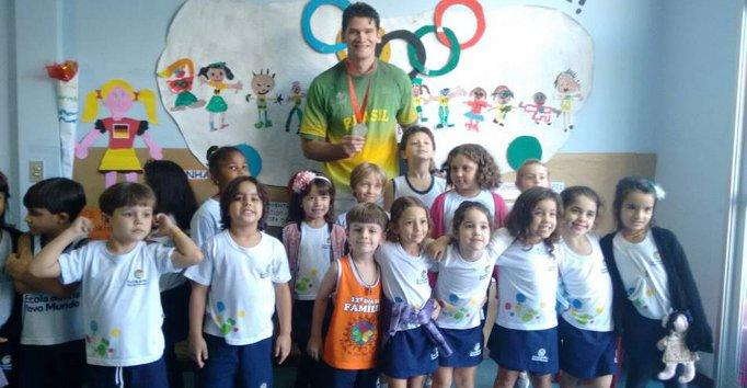 Medalhista olímpico Fábio Luiz desenvolve projeto esportivo no ...