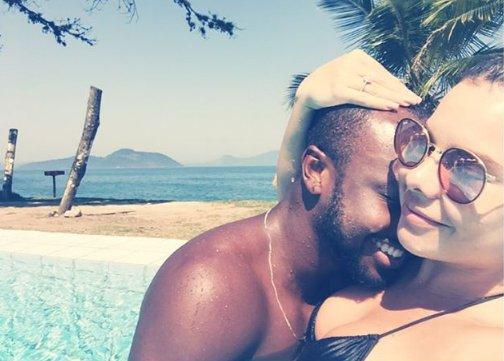 Fernanda Souza e Thiaguinho podem ser cupido de Bruna ...