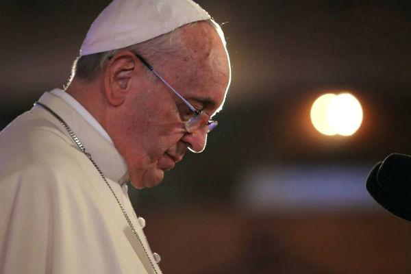 Papa estaria se referindo à crise política brasileira