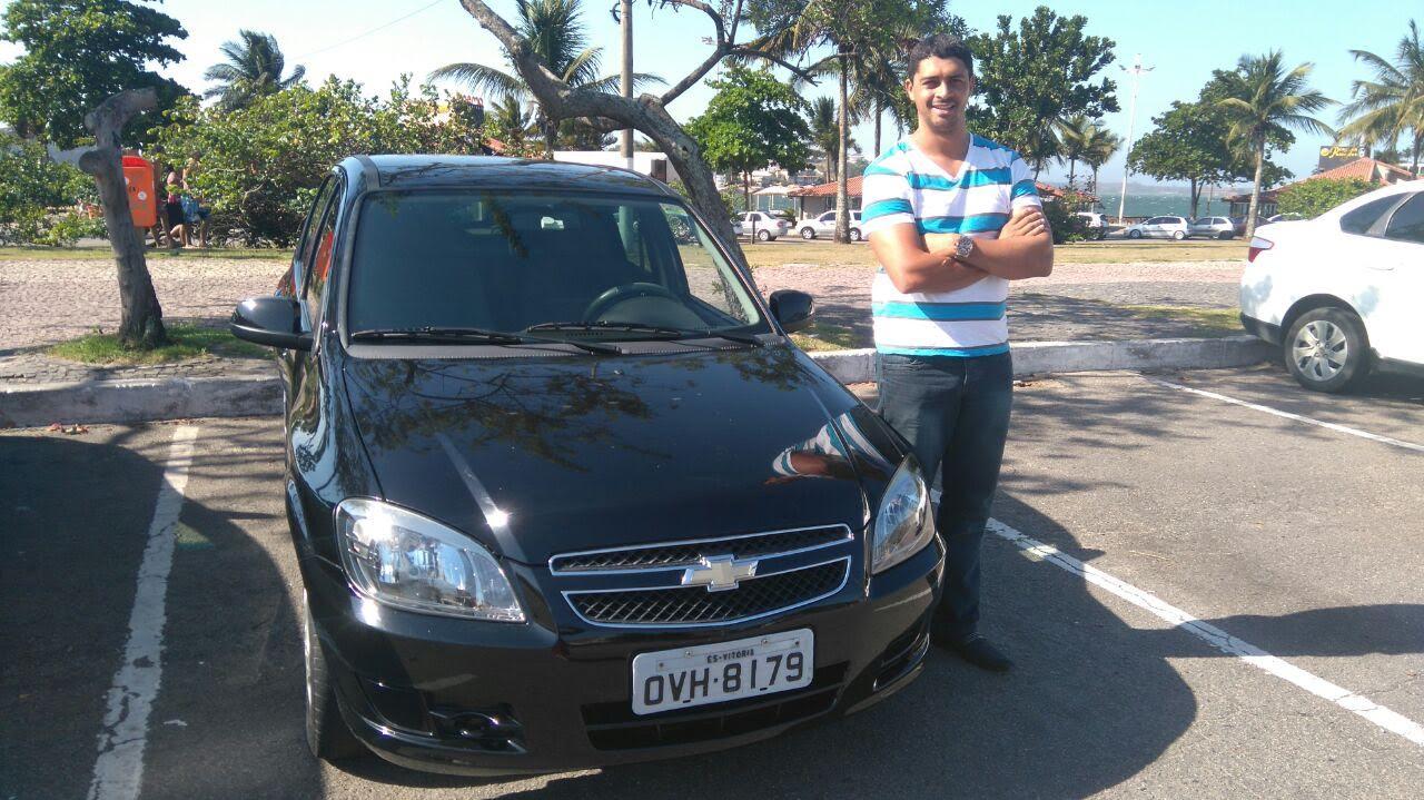 Folha Vitória embarca em carro da Uber e testa serviço no primeiro ...