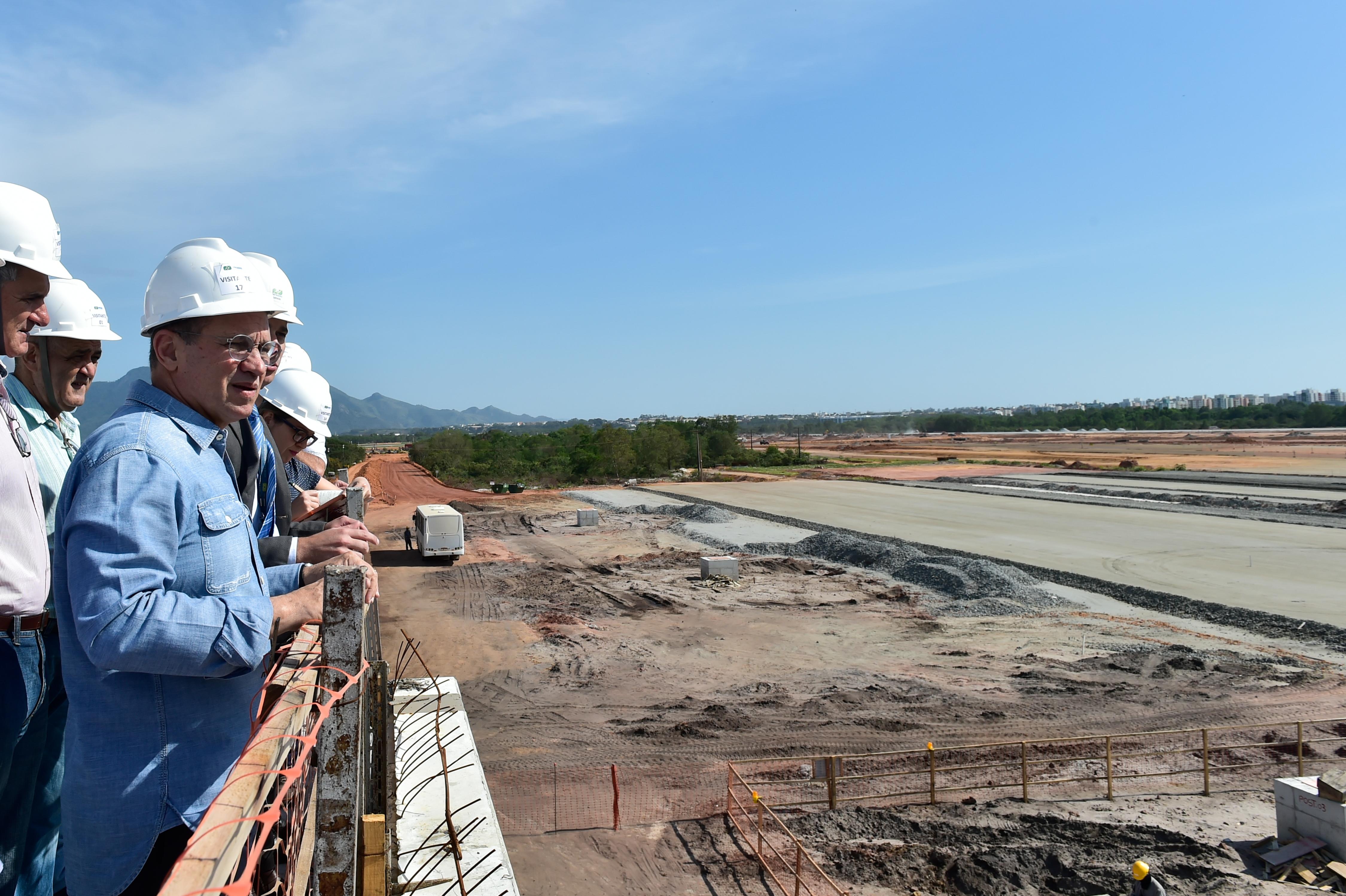 40% da obra de ampliação do aeroporto já está pronta, aponta ...