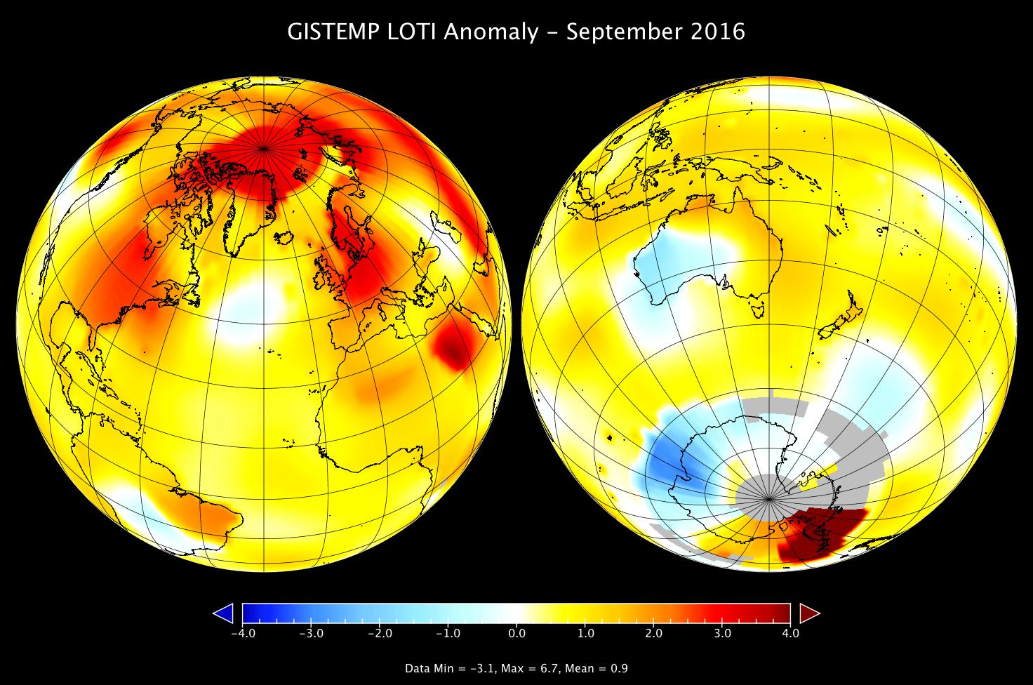 Setembro foi o mês mais quente em 136 anos, segundo Nasa ...