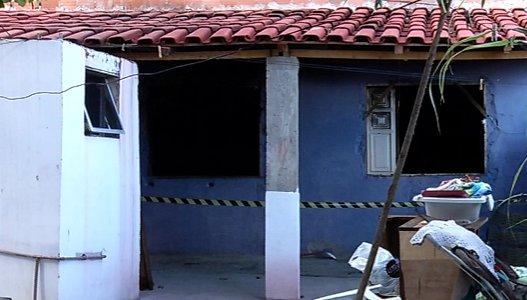 Após discussão com sogra, homem coloca fogo em residência na ...