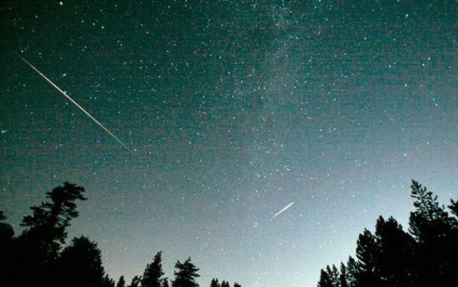 Chuva de meteoros poderá ser vista nesta madrugada em todo o ...