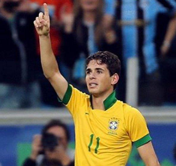 e94bef54ed Oscar substitui Neymar na partida desta terça-feira contra a Venezuela  Foto  Reprodução Instagram